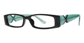 Modern Optical Bubbly Black/Blue