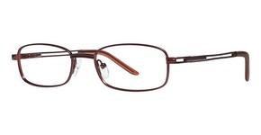 Modern Optical Absolute Matte Burgundy