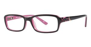 L'Amy Emma Dark Grey/ Pink