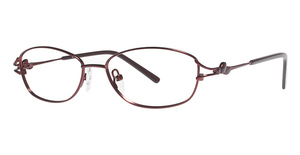 L'Amy C by L'Amy 518 Matte Burgundy/ Translucent Burgundy
