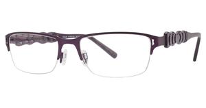 Aspex T9966 Stn Purple/Clear Purple