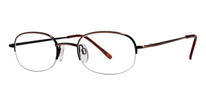 Modern Optical Discover Antique Brown