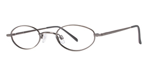 Modern Optical Gator Antique Silver