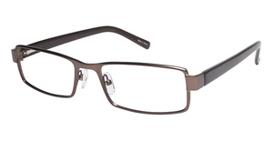 Vision's Vision's 197 Matte Brown/ Translucent Brown