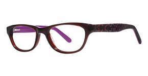 Modern Optical Rhapsody Burgundy
