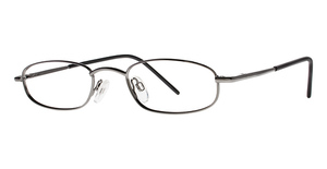 Modern Optical Profile Gunmetal