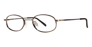 Modern Optical Pumpkin-Skull Eyeglasses