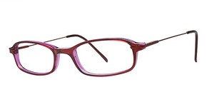 Modern Optical Celebrity Burgundy