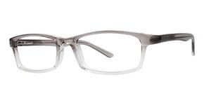 Modern Optical Clutch Grey Fade