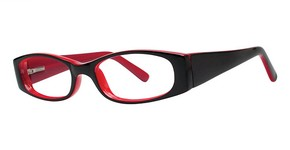 Modern Optical Gaze Black/Red