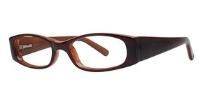 Modern Optical Gaze Brown