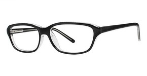 Modern Optical Jean Black/Crystal