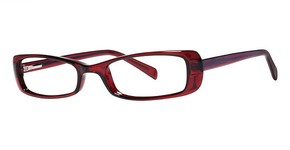 Modern Optical Morgan Burgundy