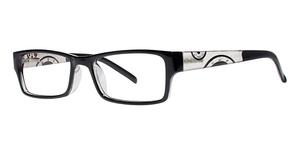 Modern Optical Shimmer 12 Black