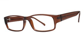 Modern Optical Clout Brown