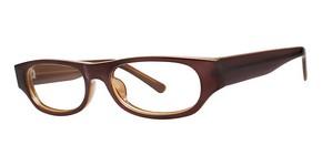 Modern Optical Candid Brown