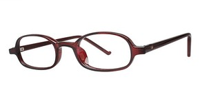 Modern Optical Talent Burgundy
