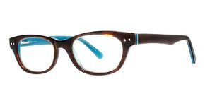 Modern Optical A335 Brown/Turquoise