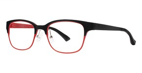 Modern Optical A329 Matte Black/Red