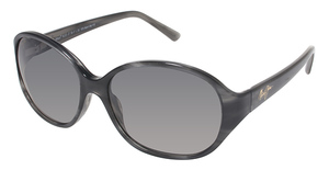 Maui Jim Ginger 221 Charcoal with Grey Polarized Lenses