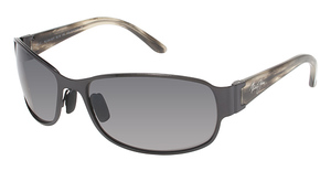 Maui Jim Makena 244 Brushed Black Gunmetal
