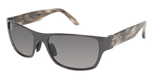 Maui Jim Kamuela 243 Brushed Black Gunmetal