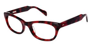 Derek Lam DL244 Red Tortoise