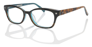 ECO PARIS DARK TORTOISE AQUA