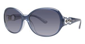 Salvatore Ferragamo SF601S (415) Pearl Blue