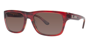 Salvatore Ferragamo SF616S Red Havana 054