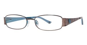 Daisy Fuentes Eyewear Daisy Fuentes Peace 416 Eyeglasses