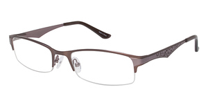 Vision's Vision's 199 Matte Brown / Light Pink