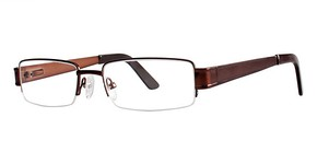 Modern Optical Bronx Matte Brown
