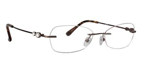 Totally Rimless TR 190 Brown
