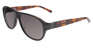 John Varvatos V783 UF Black with Grey Lenses