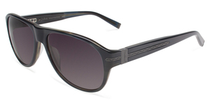 John Varvatos V783 UF Navy with Green Lenses