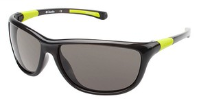 Columbia RIGA TRANSLUCENT GREY/CHARTREUSE w/ Polarized Smoke Lenses