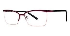 Modern Optical A344 Matte Burgundy