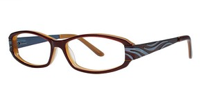 Genevieve Boutique Enhance Brown/Blue