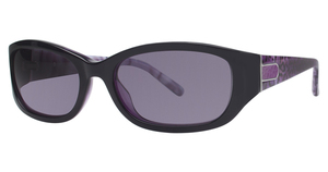 Vivian Morgan 8809 Purple/Leopard