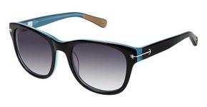 Sperry Top-Sider PORTSMOUTH Black / Light Blue