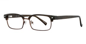 Revolution Eyewear REV753 Brown Black White/ Brown