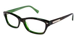 Vince Camuto VO051 Tortoise/Emerald Green
