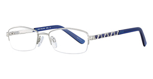 Joan Collins 9780 Silver/Blue