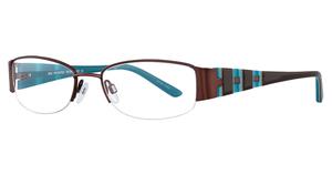 Aspex S3279 SDrkBrwn/DrkBrwn&Turquoise