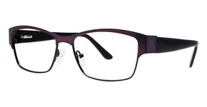 Modern Art A353 Plum/Black