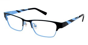 A&A Optical On Fire Black/Blue