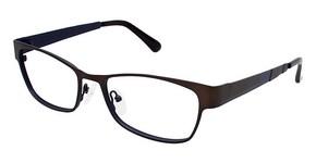 Vision's Vision's 206 Matte Dark Brown / Matte Navy