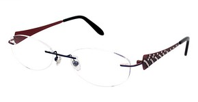 Jimmy Crystal New York Fancy Eyeglasses