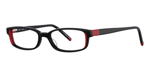 Continental Optical Imports La Scala 445 Black/Red